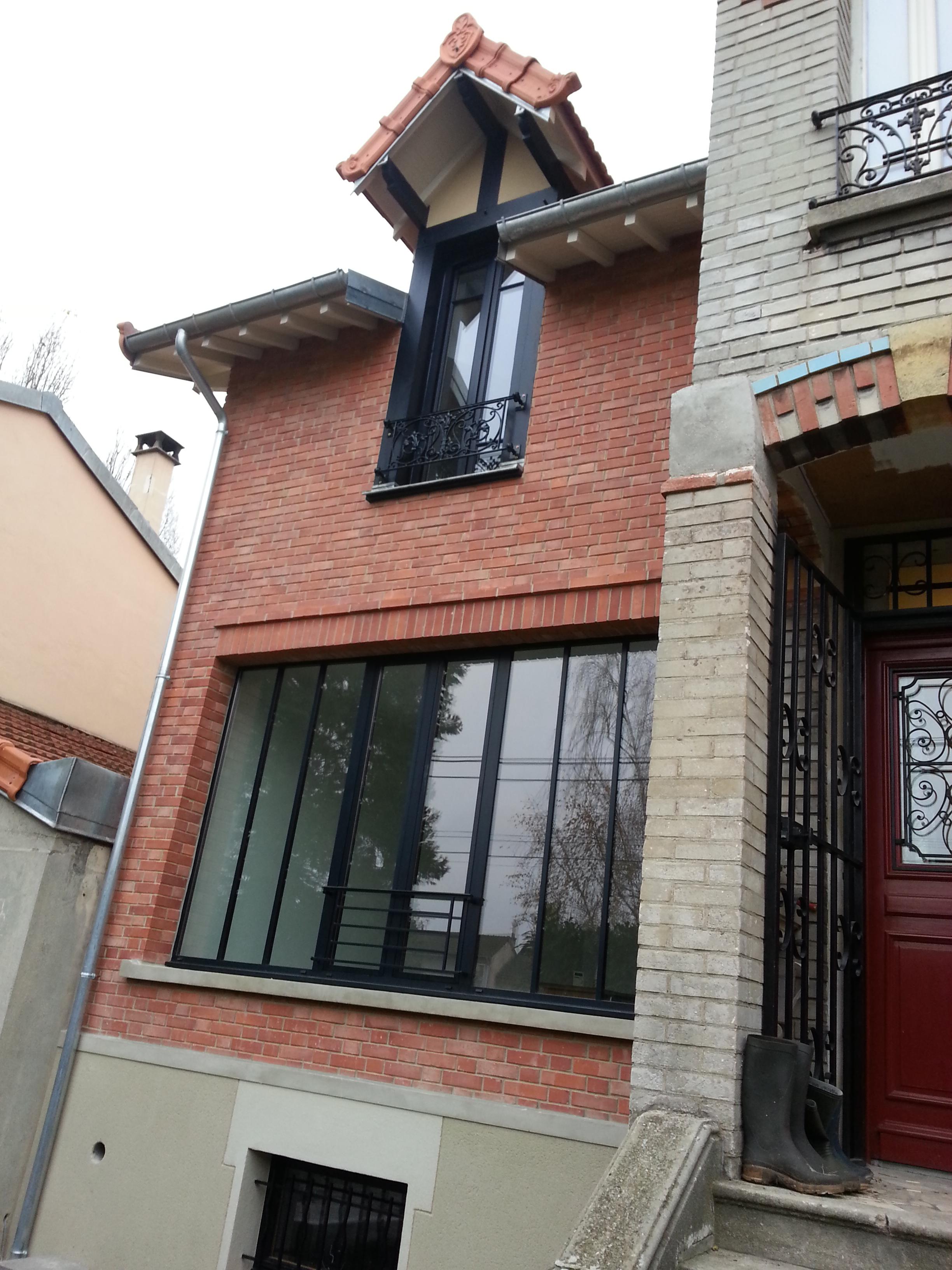 Agrandissement d une maison de 1900 briques et meuli re for Agrandissement maison autorisation
